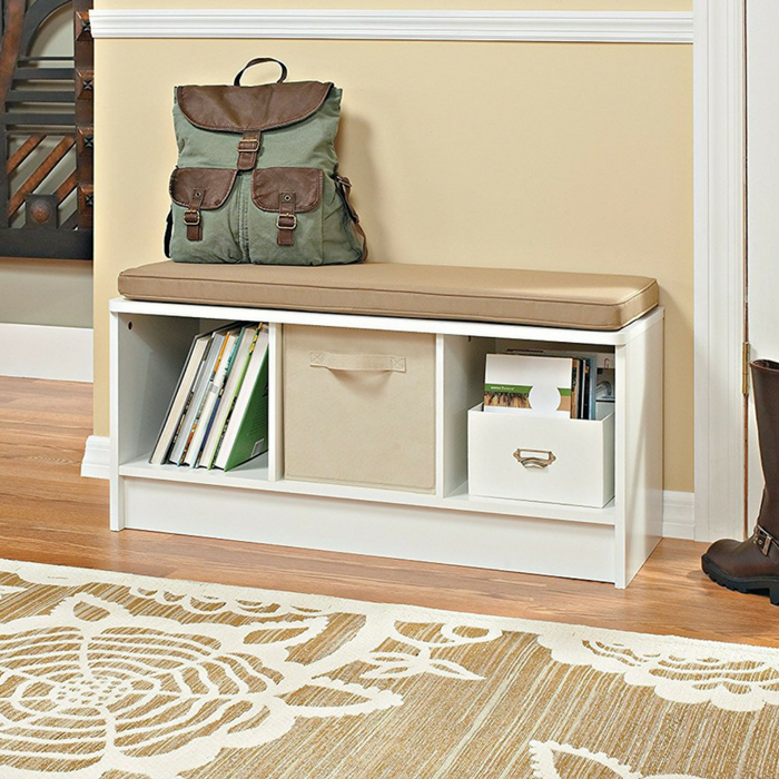 ClosetMaid 3-Cube Storage Bench Just $46.42! Down From $70! PLUS FREE Shipping!