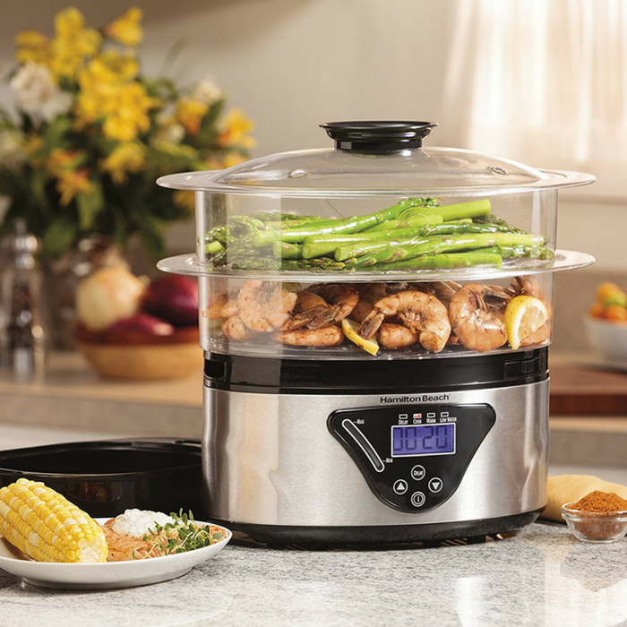 Hamilton Beach Food Steamer Just $29.47! Down From $46! PLUS FREE Shipping!