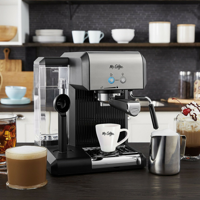 Mr. Coffee Espresso Machine Just $55.90! Down From $110! PLUS FREE Shipping!