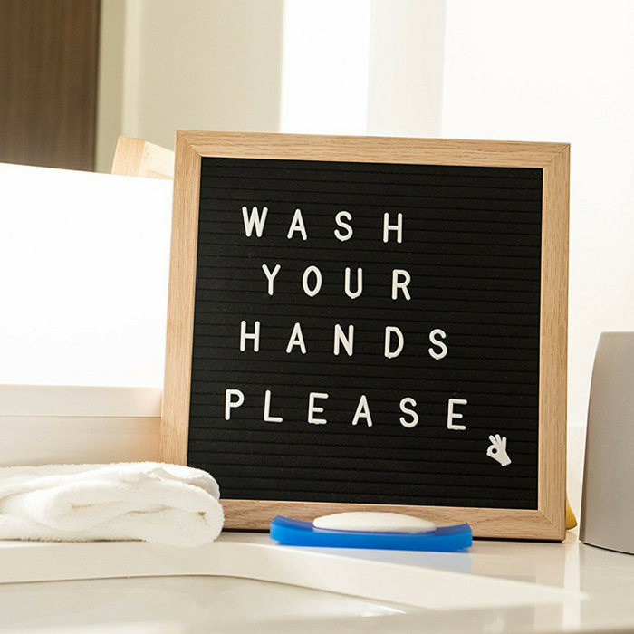 Felt Letter Board Organizer Just $17.95! Down From $40!