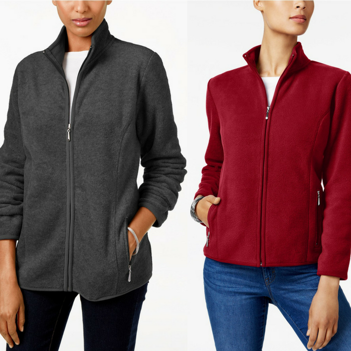 Zeroproof Fleece Jacket Just $11.66! Down From $46.50!