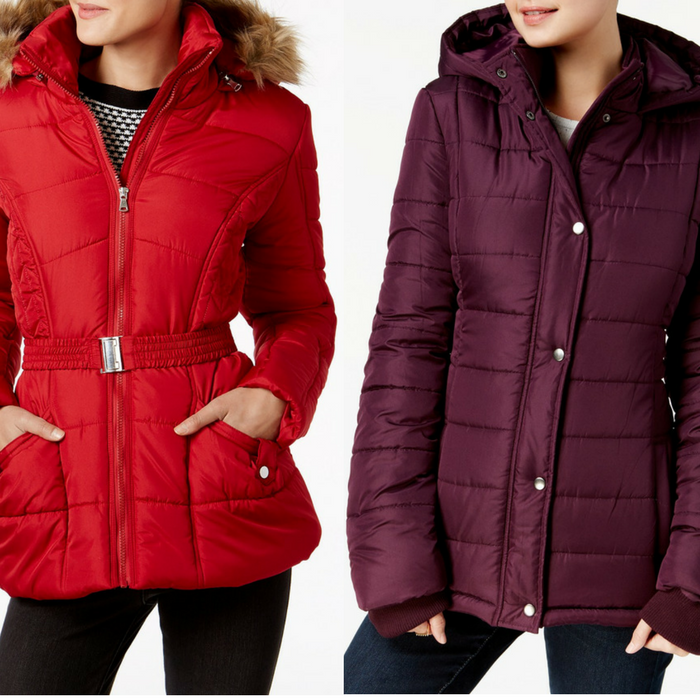 Women's Puffer Coat Just $25.49! Down From $70!