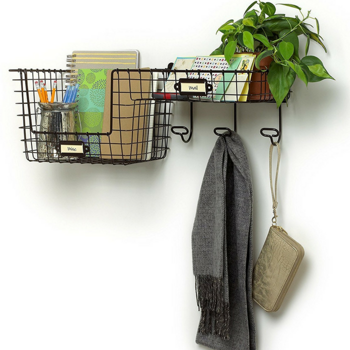 Entryway Storage Basket Just $30.62! Down From 57! PLUS FREE Shipping!