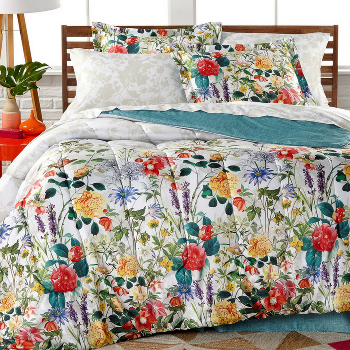 Leslie 8-Piece Reversible Comforter