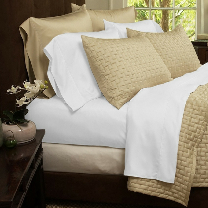 4-Piece Bed Sheet Set Just $19.99! Down From $100! PLUS FREE Shipping!