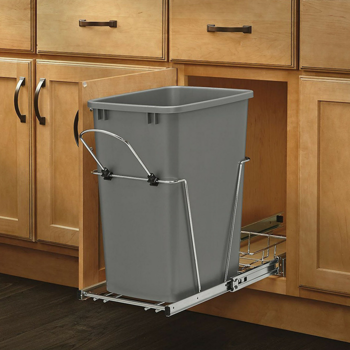 Pull-Out Waste Container With Basket Just $44.99! Down From $87! PLUS FREE Shipping!