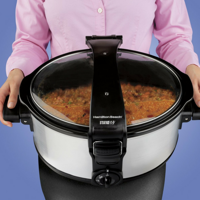Hamilton Beach 7-Quart Slow Cooker Just $28.79! Down From $50! PLUS FREE Shipping!