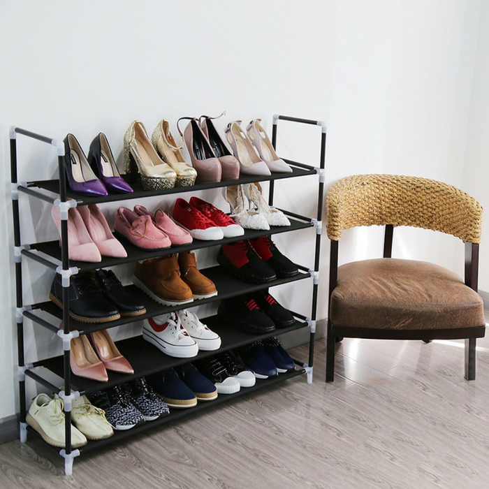 5-Tier Shoe Rack Just $25.99! Down From $80! PLUS FREE Shipping!