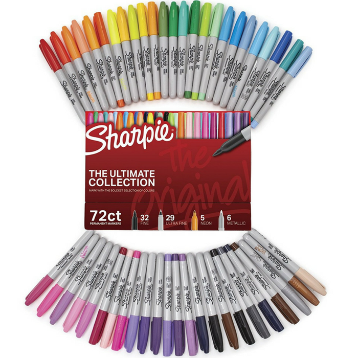 Sharpie 72-Count Markers Just $26.99! Down From $50! PLUS FREE Shipping!