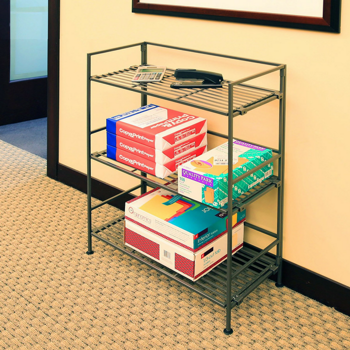 3-Tier Tower Shelving Just $26.49! Down From $45! PLUS FREE Shipping!