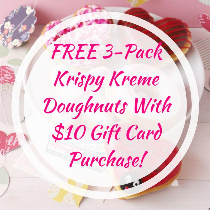 3-Pack Krispy Kreme Doughnuts