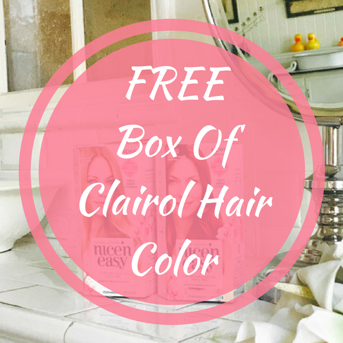 Box Of Clairol Hair Color