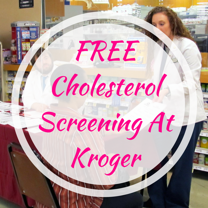 FREE Cholesterol Screening At Kroger!