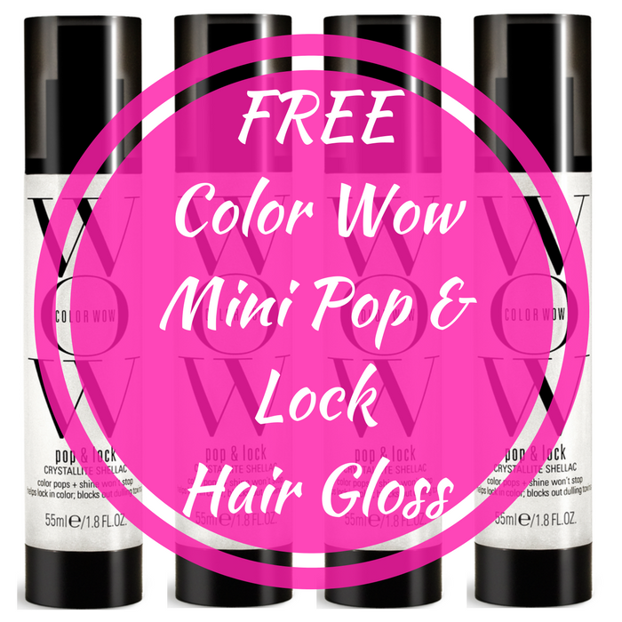 Color Wow Mini Pop & Lock Hair Gloss!