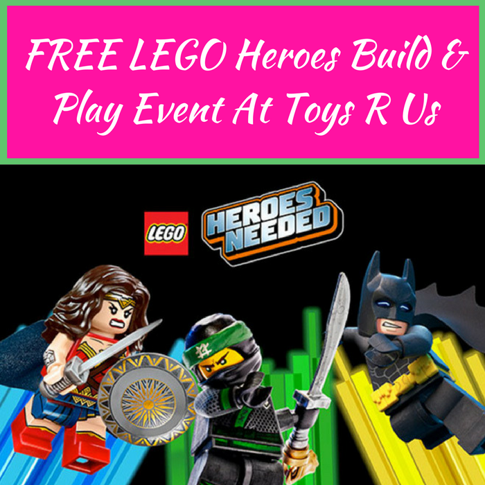 LEGO Heroes Build & Play Event