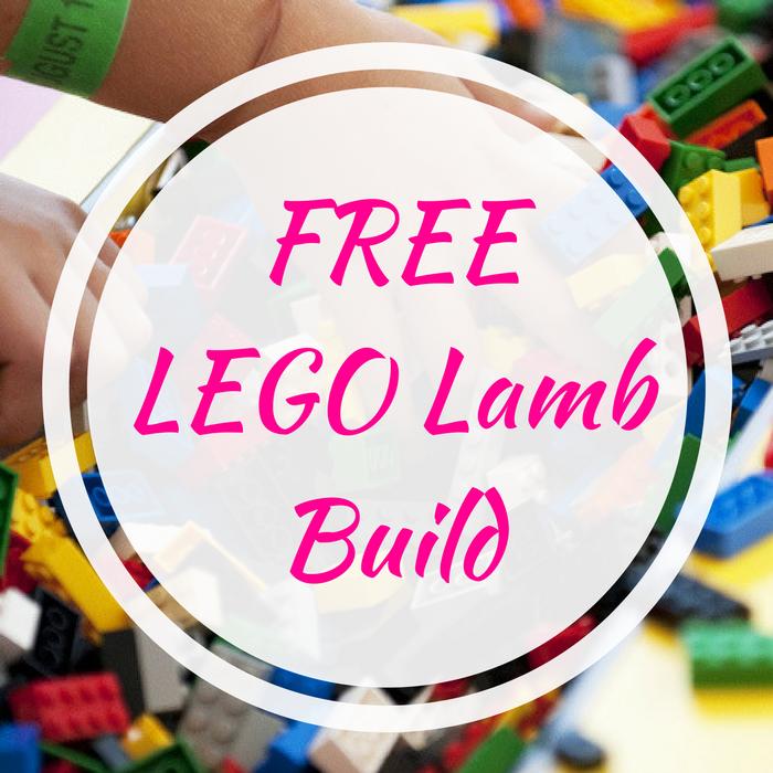 FREE LEGO Lamb Build
