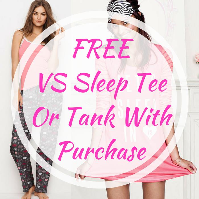 VS Sleep Tee Or Tank