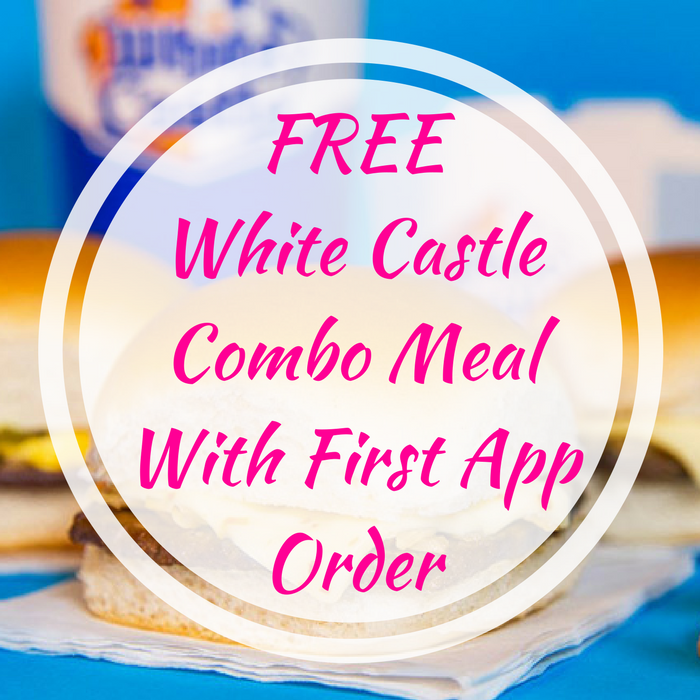 White Castle Combo Meal With First App Order