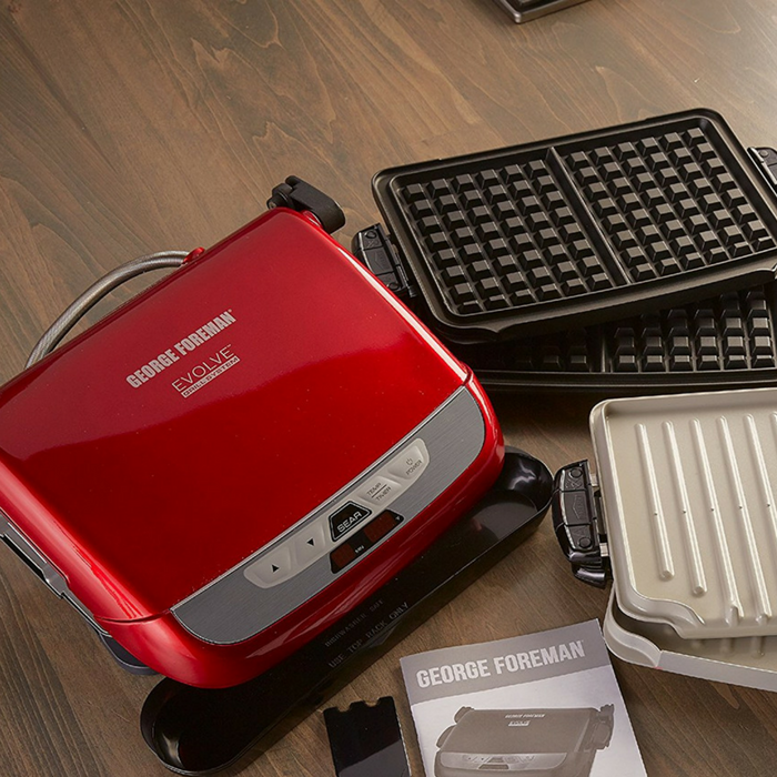 George Foreman 5-Serving Grill System