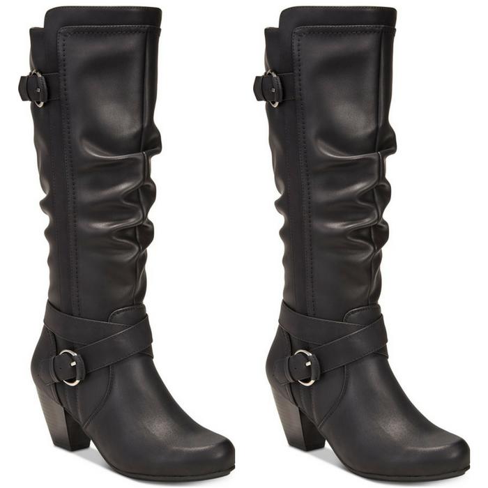 Block-Heel Dress Boots