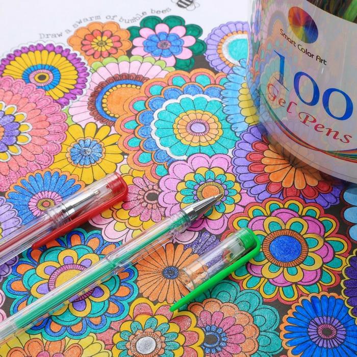 100-Piece Gel Pens