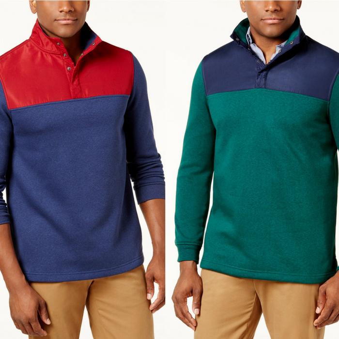 Men's Fleece Pullover
