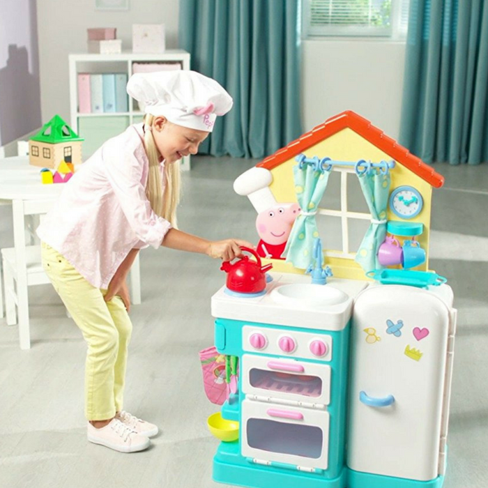 Peppa Pig Kitchen Playset Just 45 28 Down From 80 Plus Free