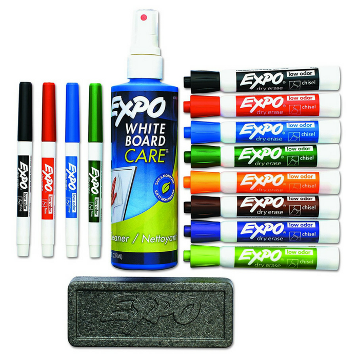Expo 15-Piece Dry Erase Markers
