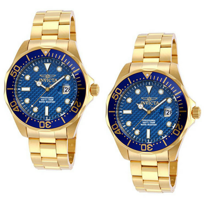 Invicta Men's Gold Plated Watch