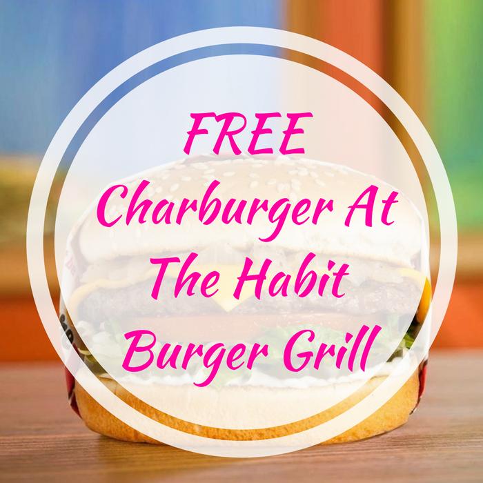 Charburger At The Habit Burger Grill