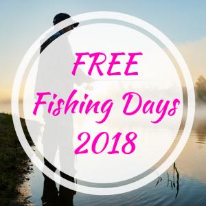 FREE Fishing Days 2018!