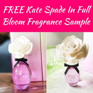 FREE Kate Spade In Full Bloom Fragrance Sample!