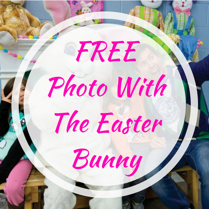 FREE Photo With The Easter Bunny!