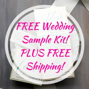FREE Wedding Sample Kit! PLUS FREE Shipping!