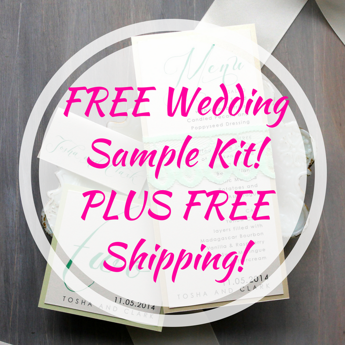 Wedding Sample Kit