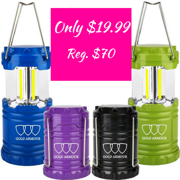 LED Lantern Lights 4-Pack