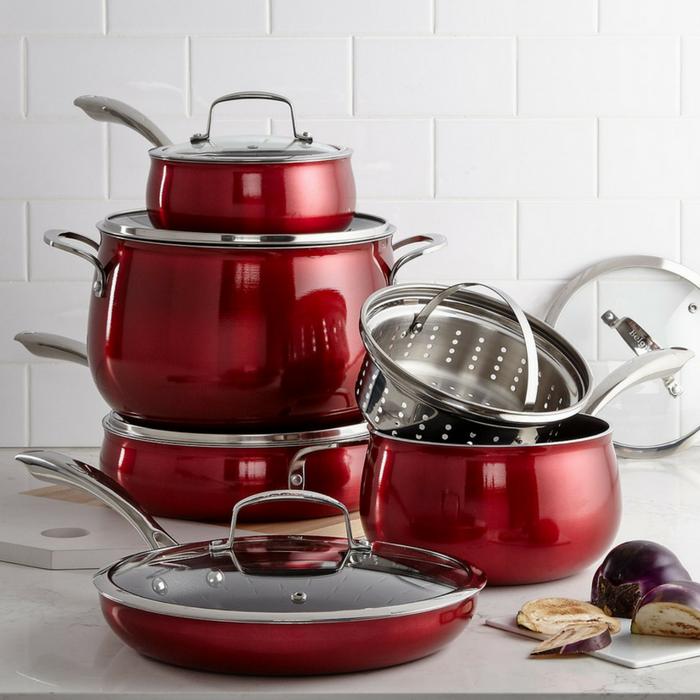 Aluminum 11-Piece Cookware Set