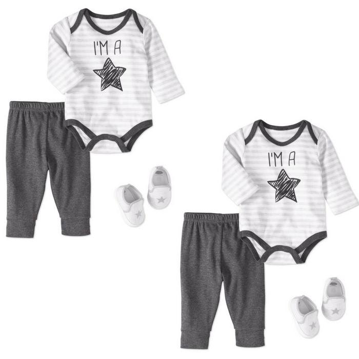Baby Boy 3-Piece Bodysuit