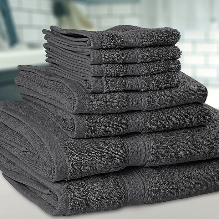 Premium 8-Piece Towel Set