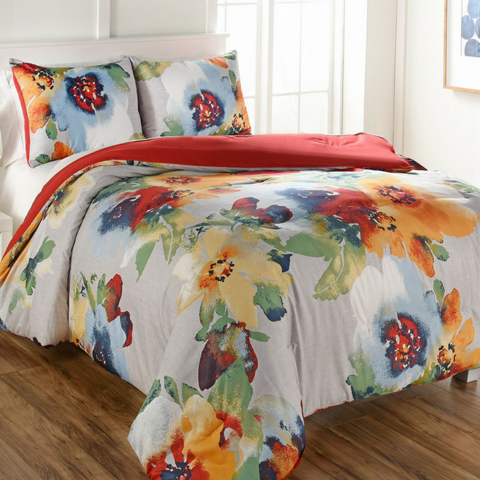 Kerra 3-Piece Queen Comforter Set