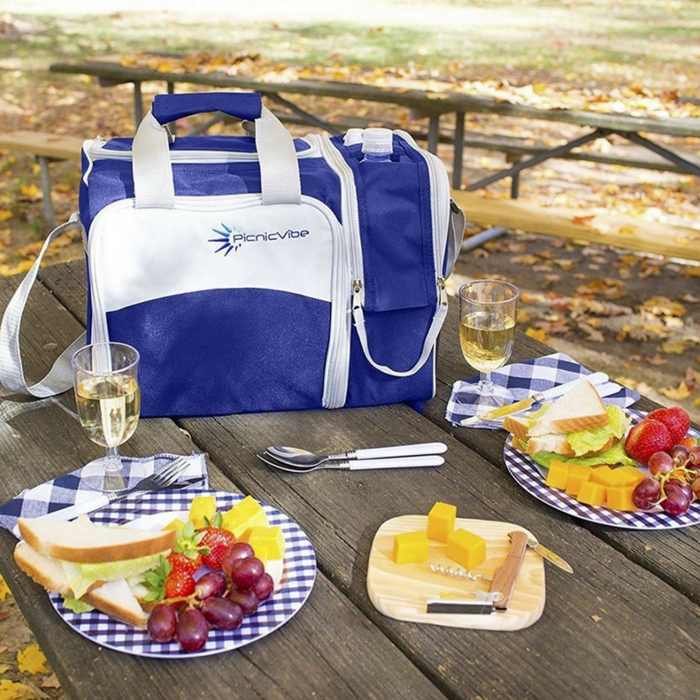 Picnic Basket Bag Set