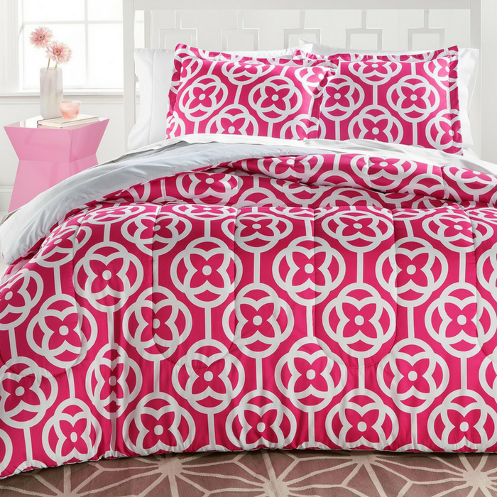 3-Piece Reversible Comforter Sets