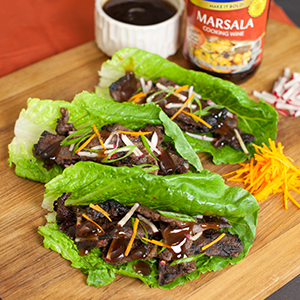 Lettuce-Wrapped Korean Shirt Ribs