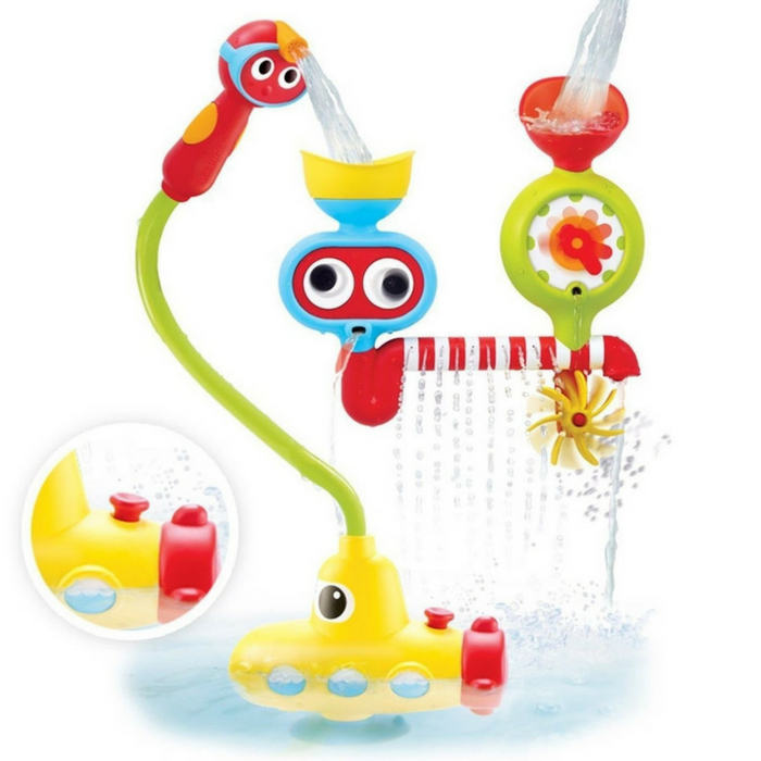 Make Bath Time Fun And Magical With This Submarine Spray Station!  #bathtime #kids #bathtimefunforkids #bathtimefunforbabies