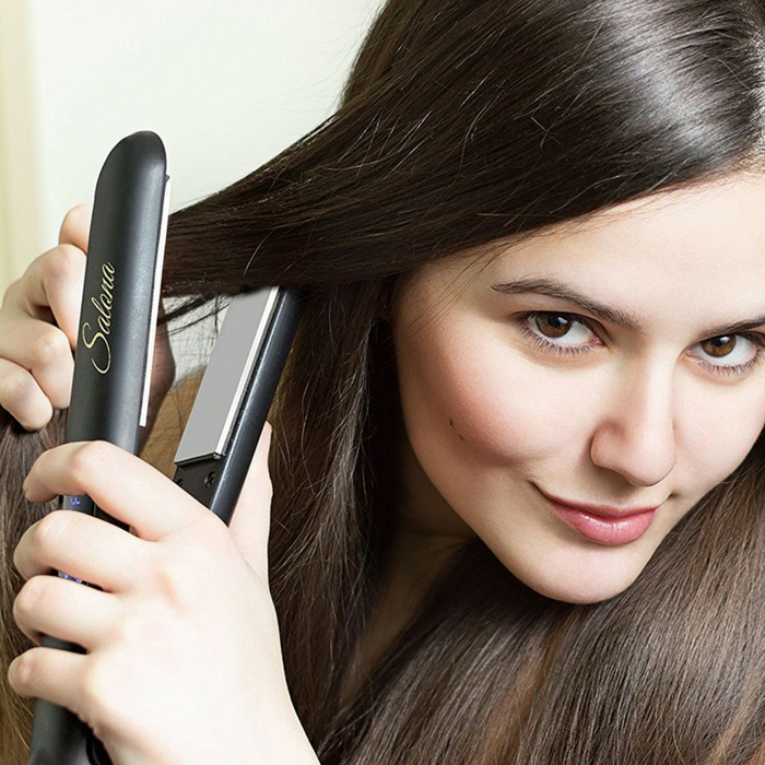 Hair Straightener With Travel Bag