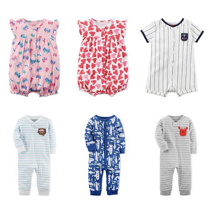Carter's Cotton Rompers and Coveralls