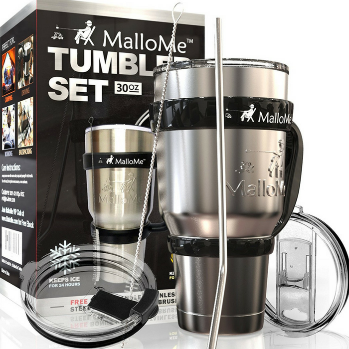 Stainless Steel Tumbler Set