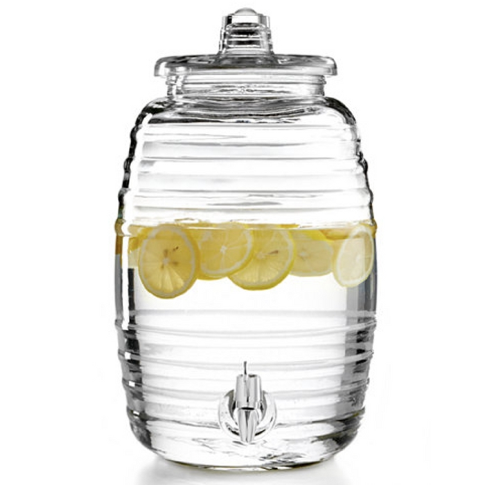 2.5-Gallon Barrel Beverage Dispenser
