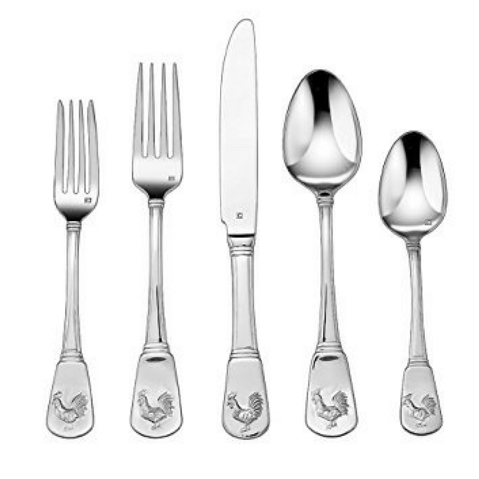 40-Piece Roaster Flatware Set