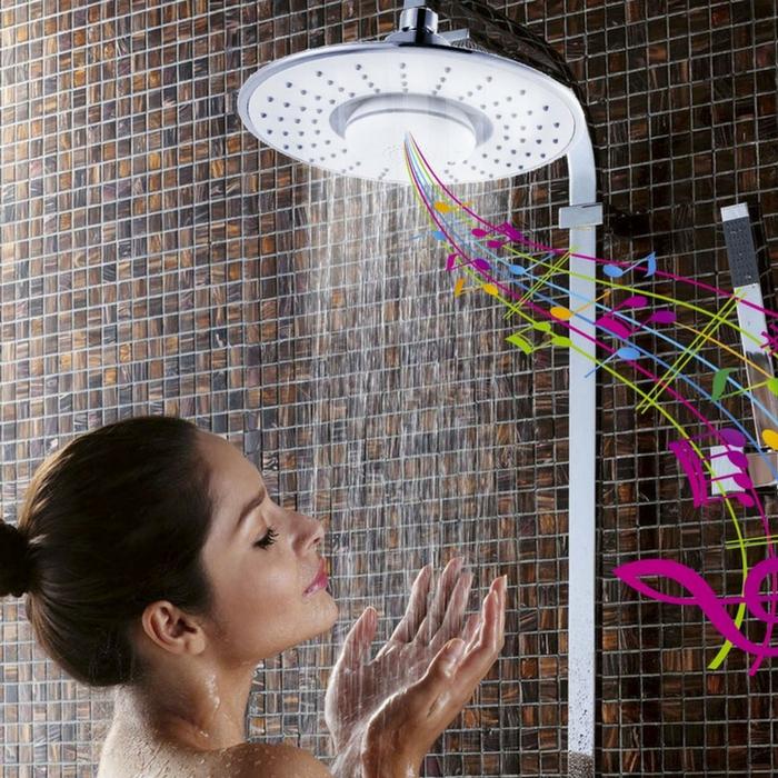 Bluetooth Speaker Rain Shower Head